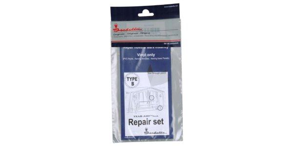 Hier findest du Reparaturmaterial und...