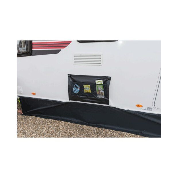 Dometic Double Wheel Arch Cover - Grey