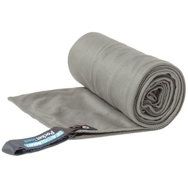 Pocket Towel M Grey