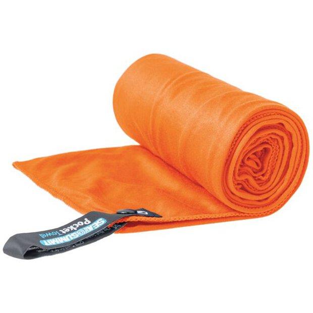 Pocket Towel L Orange
