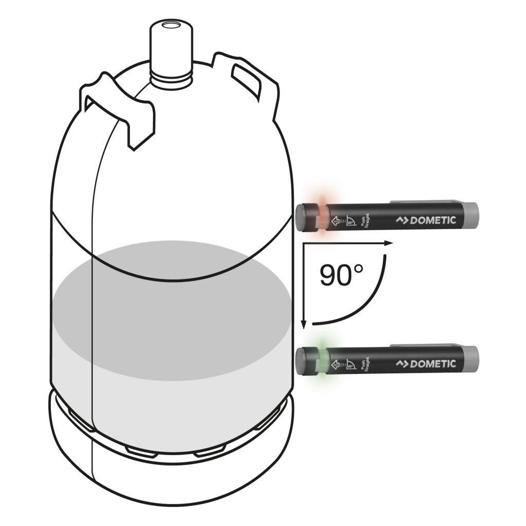 dometic gas checker gc 100 campingprodukte schweiz. Black Bedroom Furniture Sets. Home Design Ideas