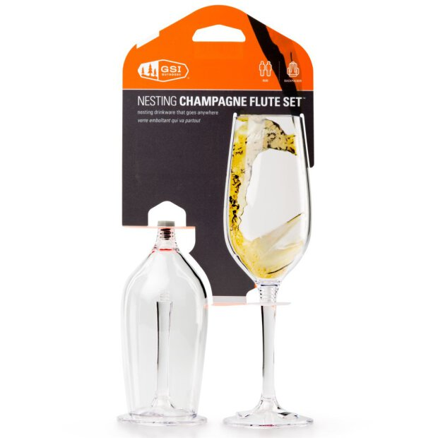 GSI Sektglas Nesting 275 ml 2er-Set
