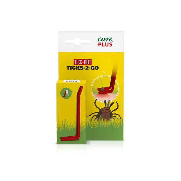 Care Plus Zeckenzange Ticks to Go