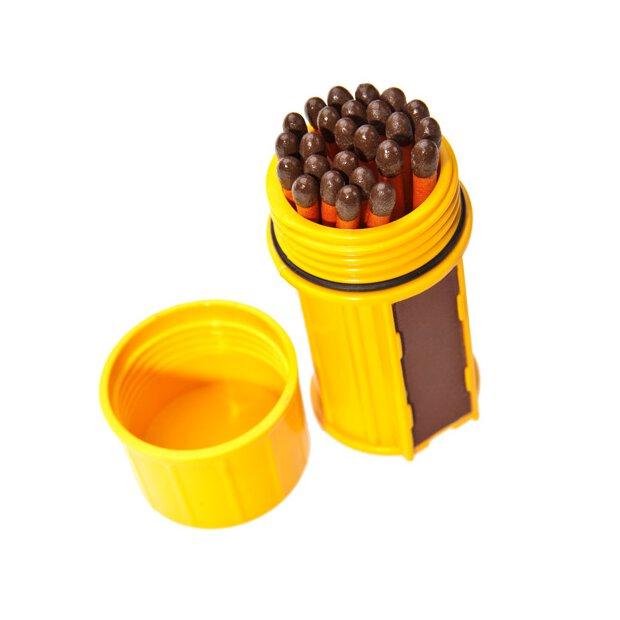 Stormproof Match Kit Yellow